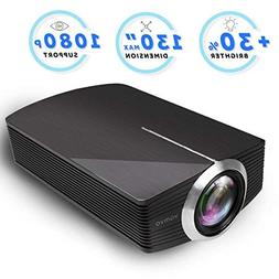 Led Projector, Vamvo Home Theater Movie Projector LED Source