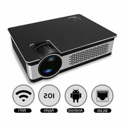 Home Theater Projector 3200 Lumens 8GB 720P HD Smart Android