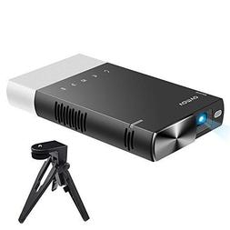 Mini Projector, Vamvo Ultra Mini Portable Projector 1080p Su