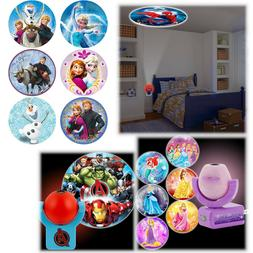 Kid Night Projector Lamp Wall Ceiling LED Plug Toddler Child