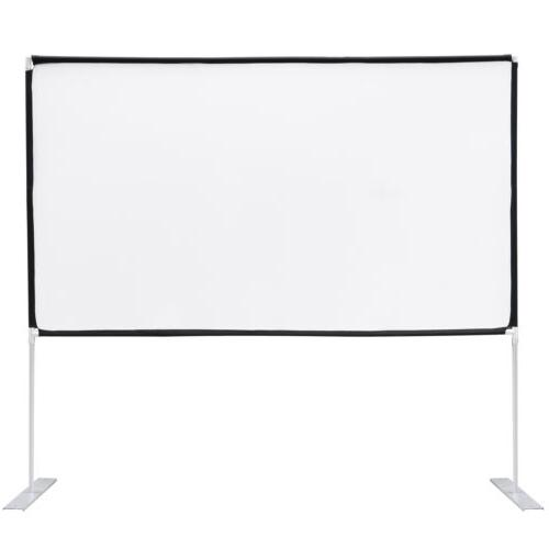 """100"""" Diagonal Projector Theater with Stand"""