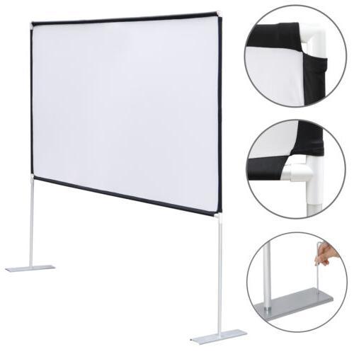 100 diagonal 16 9 projection projector screen