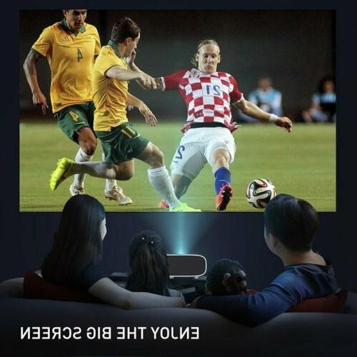 28000LM 4K WiFi Video Theatre Cinema