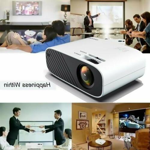 LED Projector HD Movie USB