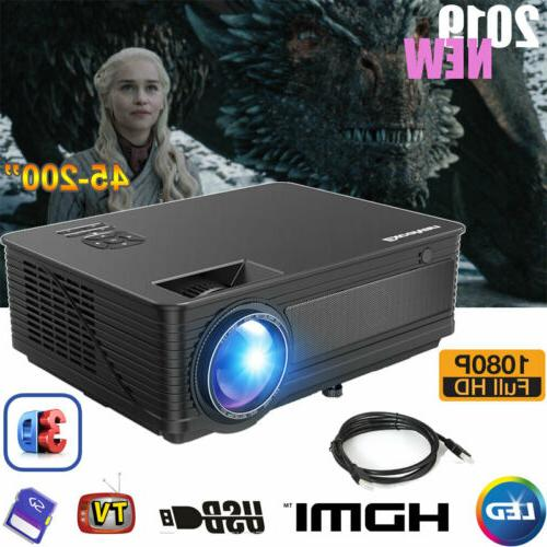 1080p full hd led projector home theater