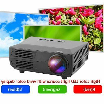 5000LMs 1080P 3D Projector Multimedia Home Theater Cinema VGA HDMI