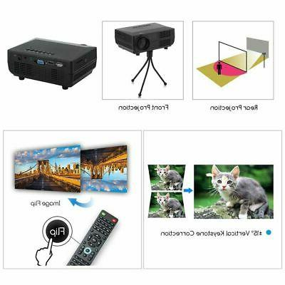 5000LMs Projector LED Multimedia Theater VGA