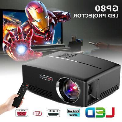 1080p hd portable smart 3d led projector
