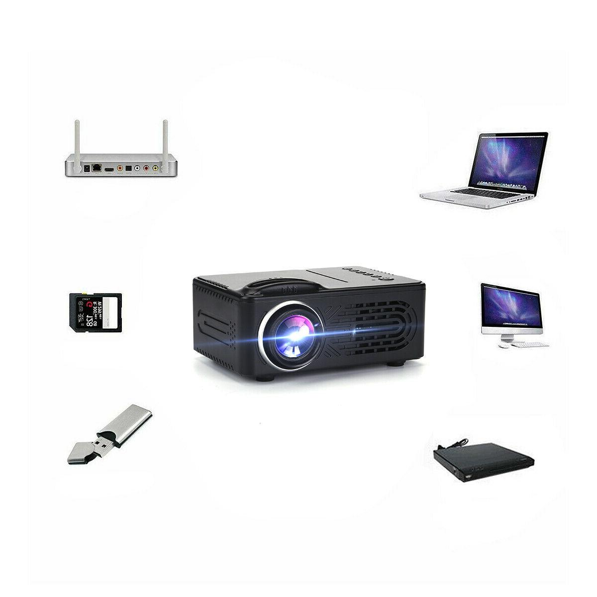 1080P Theater Projector Cinema LED LCD Mini Projector Movie