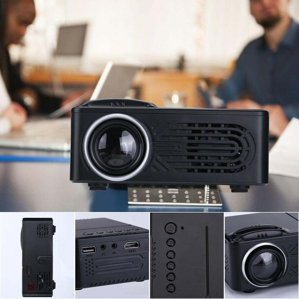 Mini Lumens HD 1080P 3D Projector LED HDMI