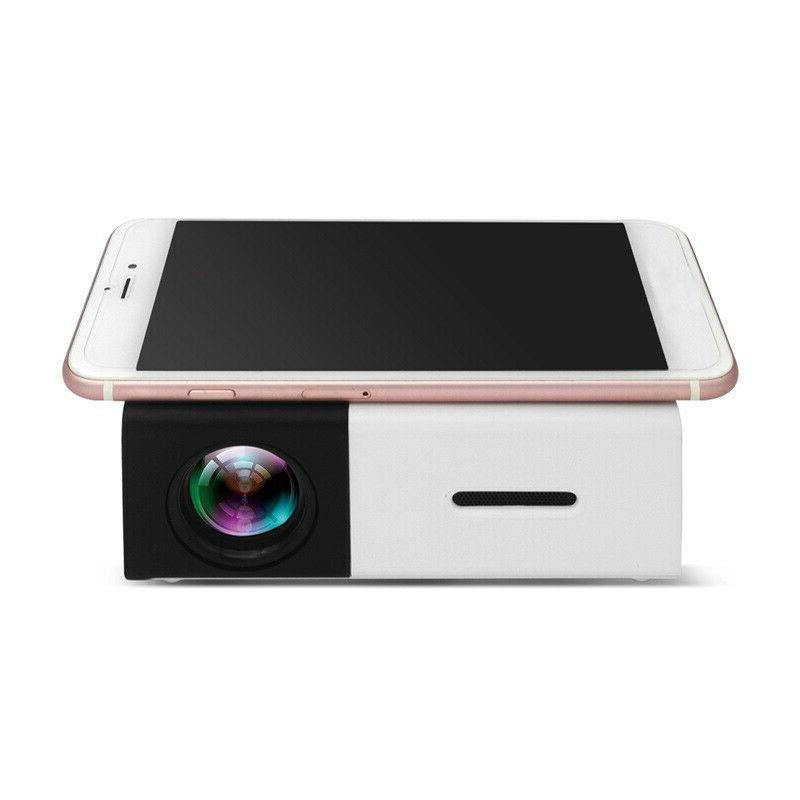 1080P USB HDMI AV SD Mini Portable HD Projector YG300