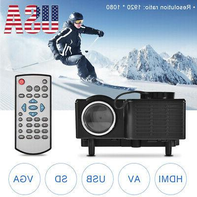 1080p home theater cinema usb av vga