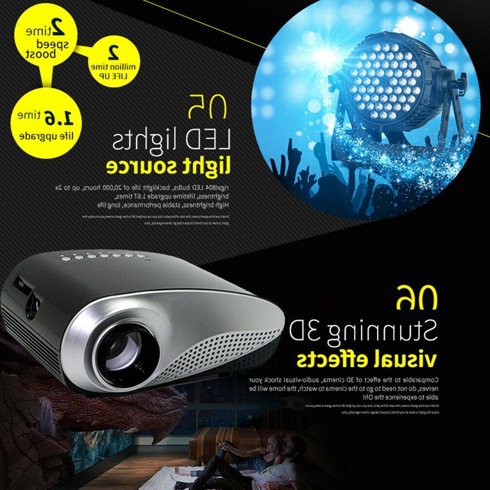 1080P Mini 3D Home Theater AV