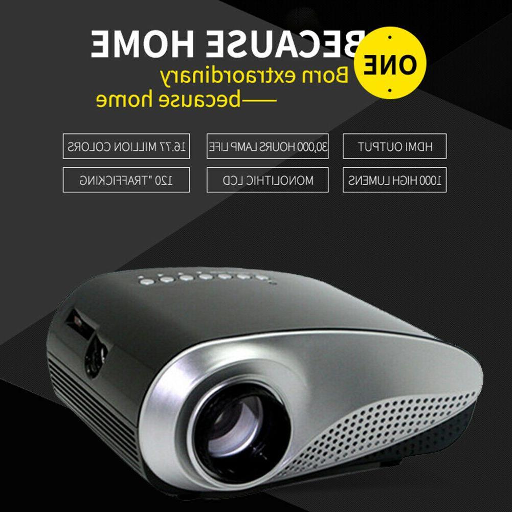 1080p mini hd led 3d projector home
