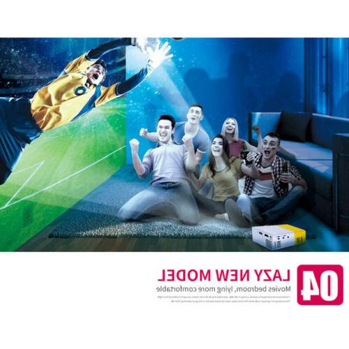 1080P Mini YG300 LED LCD Home Theater USB HD