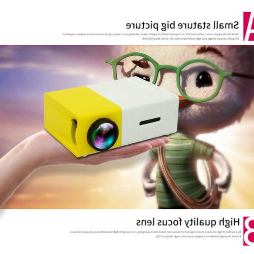 1080p mini portable projector yg300 multimedia led