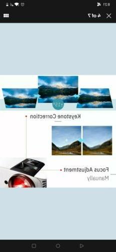 1080P Artlii LED Home Theater Cinema HDMI Video