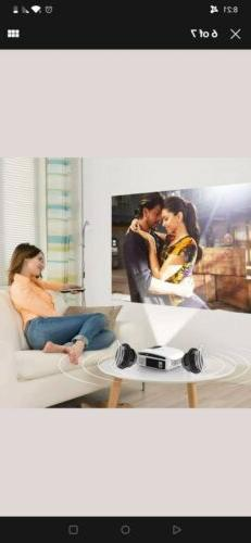 1080P Projector Artlii LED Theater Cinema Movie Video