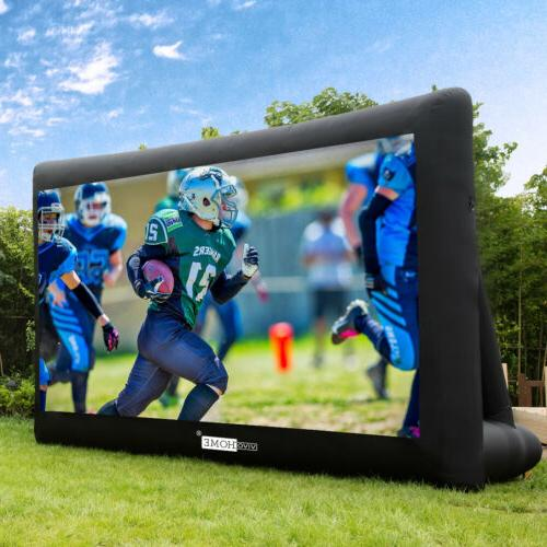 16ft 20ft inflatable screen front and rear
