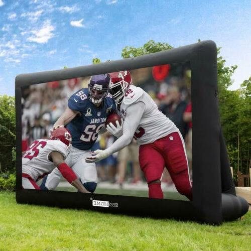 16ft 20ft jumbo inflatable screen front
