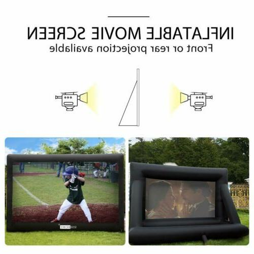 VIVOHOME 16FT-20FT Jumbo Screen Front Projection