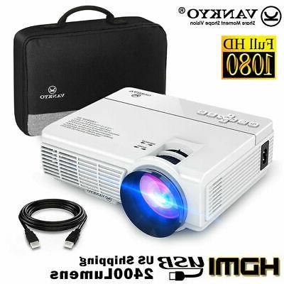 Vankyo Leisure 3 LED Projector 3600 Lumen 2000:1 1080P Home