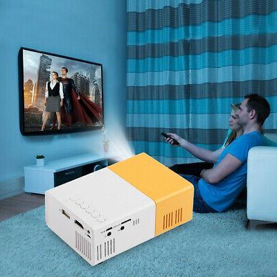 YG300 1080P Cinema USB AV SD LED Projector
