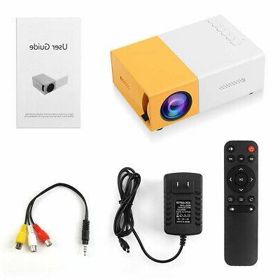 YG300 Home Theater Cinema USB HDMI AV SD Portable LED US