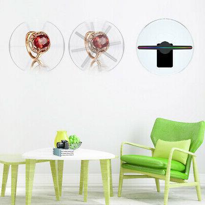 3D LED Hologram Fan Display Shop Advertising