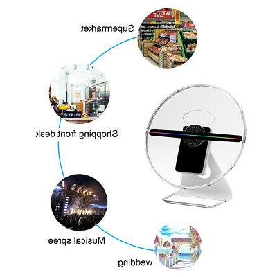 3d led hologram projector fan holographic display