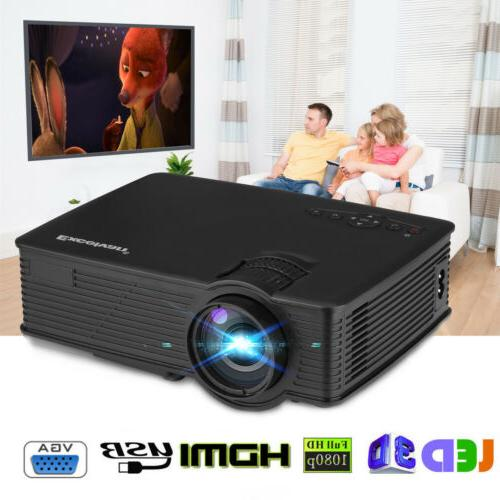 7000 Projector HD 1080P Theater SD AV