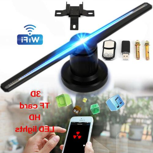 42cm 3d led wifi hologram projector holographic