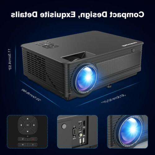 1080P Full Projector Home 7000 Lumens