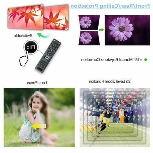 HD LED Video Home USB Basement