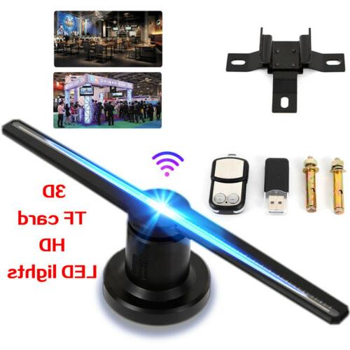3d wifi holographic projector display fan hologram