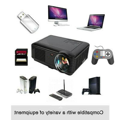 4K 1080P LCD 3D LED HDMI/USB/AV/VGA/TF