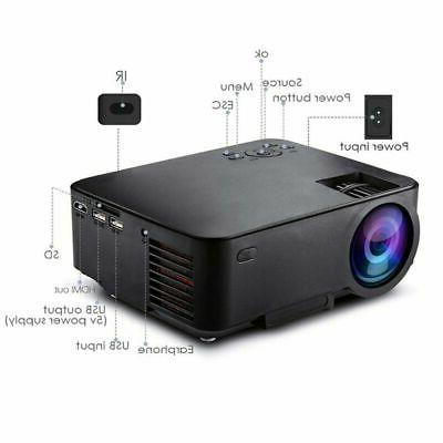 1080P 3D LED Projector Wireless
