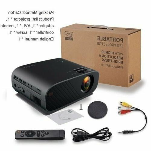1080P HD 3D Projector Cinema 23000 Lumens