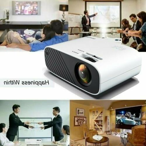 18000 Lumens 4K HD WiFi Mini 3D LED Cinema