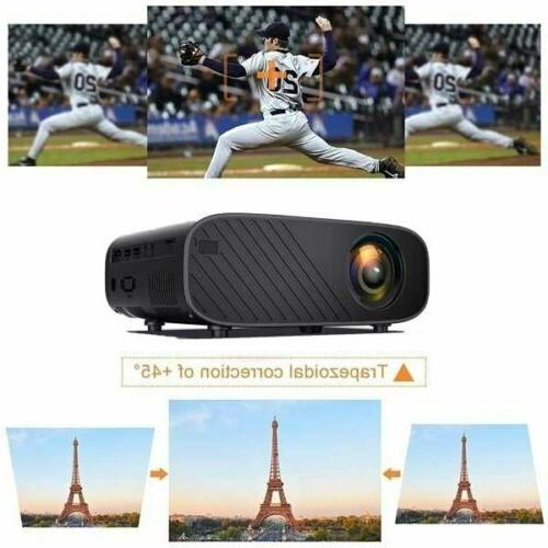 18000 Lumens HD LED Theater Projector Cinema