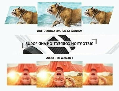 23000 Lumens 3D LED 4K Video Home Theater Cinema HDMI