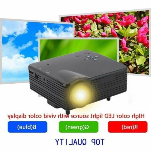 7000 Lumens LCD Home PC USB HDMI BT