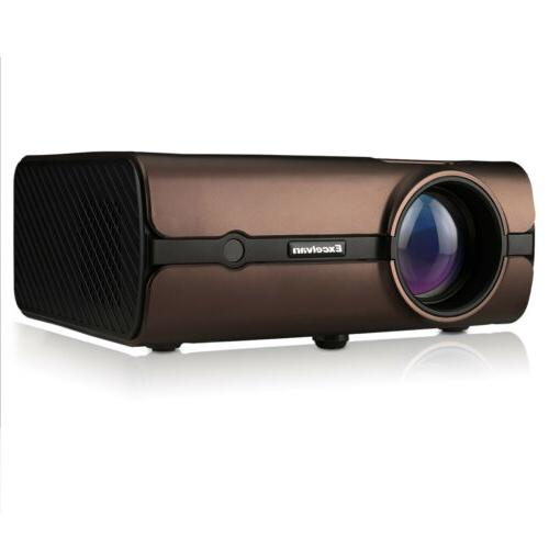 LED Smart Home Projector Wifi Movie
