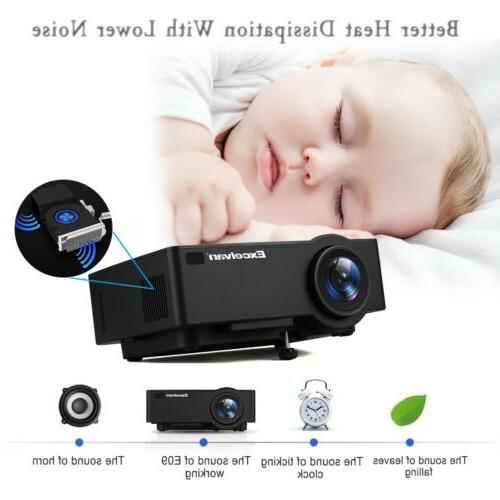 4K WiFi FHD 6.0 Projector HDMI