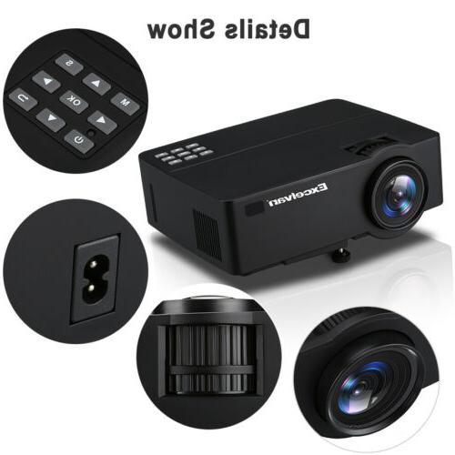 4K WiFi FHD Projector 4000LM HDMI