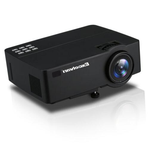 4K FHD LED Projector HDMI