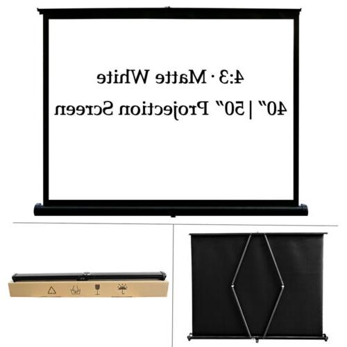 50'' Video Screen HD Home Theater Tabletop