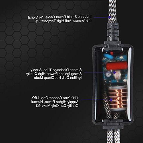 Aukee 55w HID Xenon Kit Car Headlight Bulbs Canbus Ballast Error 6000K Cold
