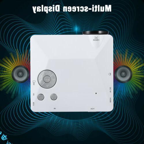 Mini Theater Projector 1080P HD 3D USB Video Movie