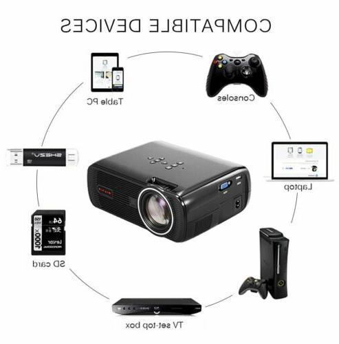 7000 Lumen 1080P VGA Theater Projector
